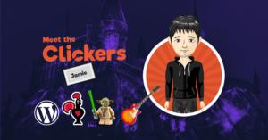 Meet the Clickers – Jamie Peters