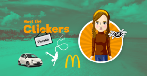 Meet the Clickers – Phoebie Day